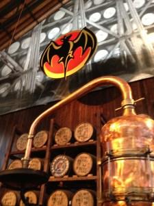 Old distillery equipment
