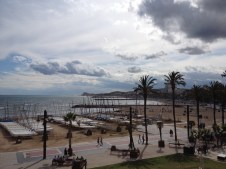Sitges waterfront