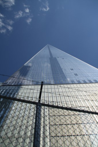 New Tower One viewed from the ground