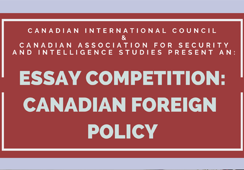 Canadian Foreign Policy Essay Competition