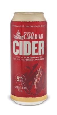 Molson Canadian – Apple Cider