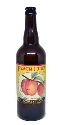 Lowrey Bros – Peach Cider