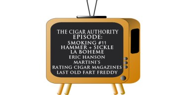 Smoking #11 and Rating Cigar Magazines – Podcast