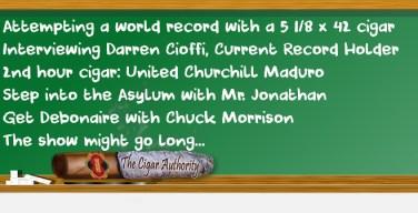 Webcast: Attempting A World Record w/ Guest Darren Cioffi