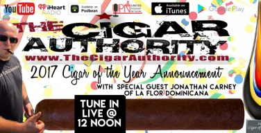 VODCast: Announcing Cigar of the Year with Jonathan Carney