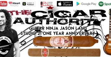 The Guitar Ninja Joins The Cigar Authority