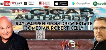 VODCAST Comedian Robert Kelly and Ray Warren From Drew Estate