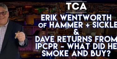 Webcast: Erik Wentworth From Hammer + Sickle & Dave Returns From Las Vegas