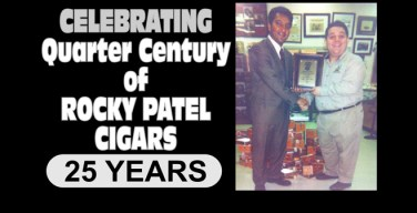 Celebrating a Quarter Century of Rocky Patel Cigars