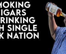 VODCast: Smoking Cigars & Drinking Whiskey With Single Cask Nation