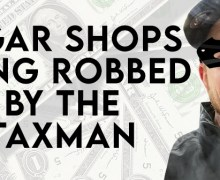 VODCast: Cigar Shops Being Robbed By The Taxman