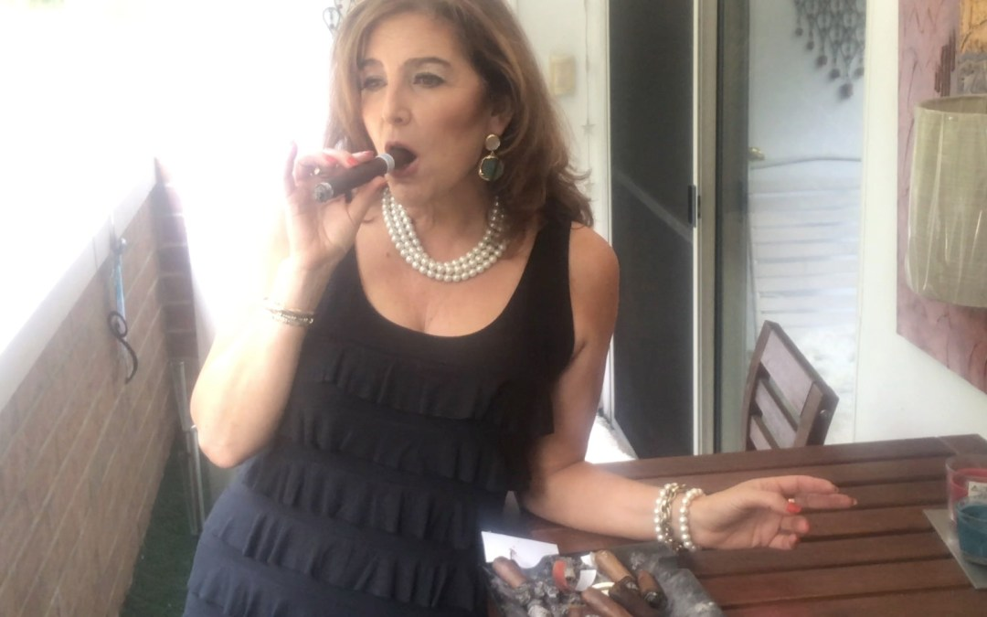 My Favorite Time To Smoke … Love, Ramona  #TheCigarLady