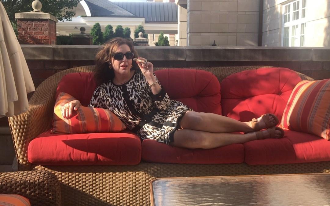 A Beautiful Day and a Sexy Cigar…Laranja by Espinosa Cigars…Love, Ramona  The Cigar Lady