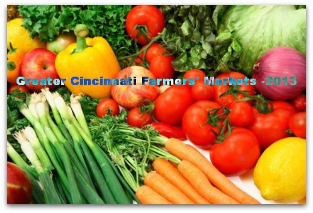 2013 Farmers' Markets