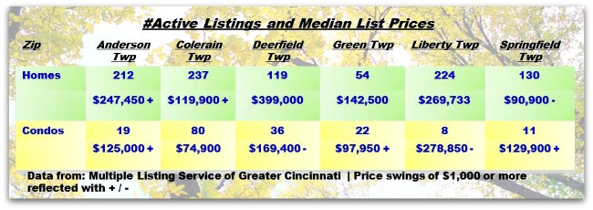 Real Estate Update for Greater Cincinnati Townships