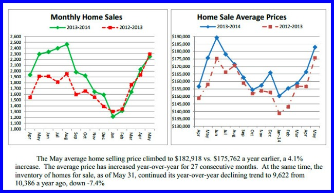 Real estate Monthly Sales Report