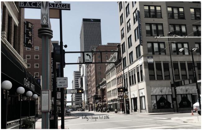 Downtown Cincinnati -Walnut Street