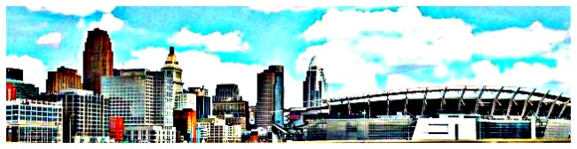 Cincinnati Ohio Skyline