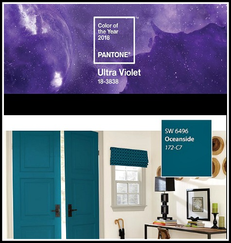 Pantone and Sherwin Williams 2018 Color of the Year