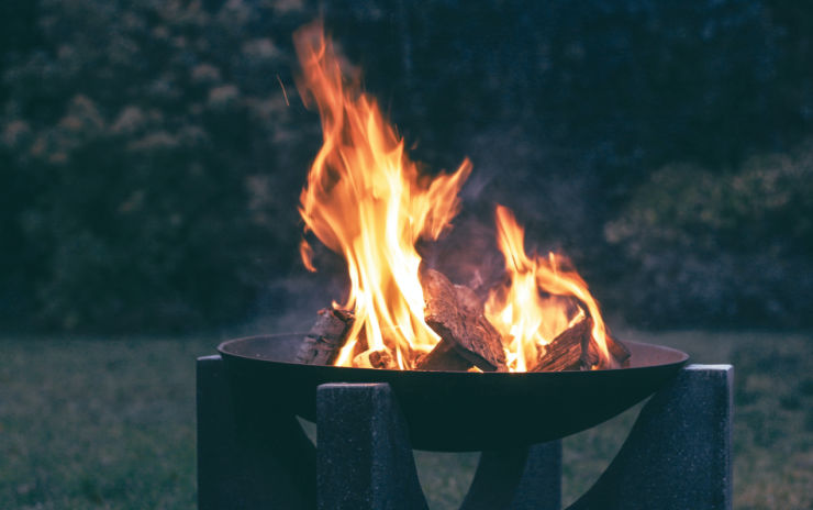 photo of fire pit