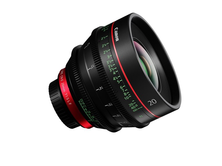 Canon Fills Gap In Primes With 20mm T1.5 CN-E