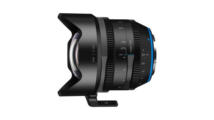 Irix Adds 11mm T4.3 to Cine Line