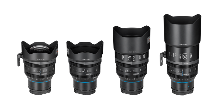 Irix Cine lenses in RF mount
