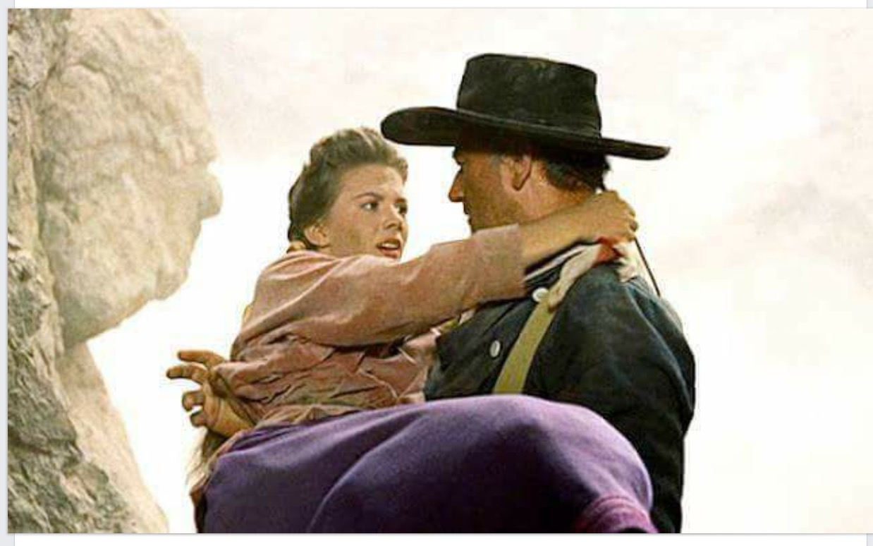 Image result for the searchers movie natalie wood