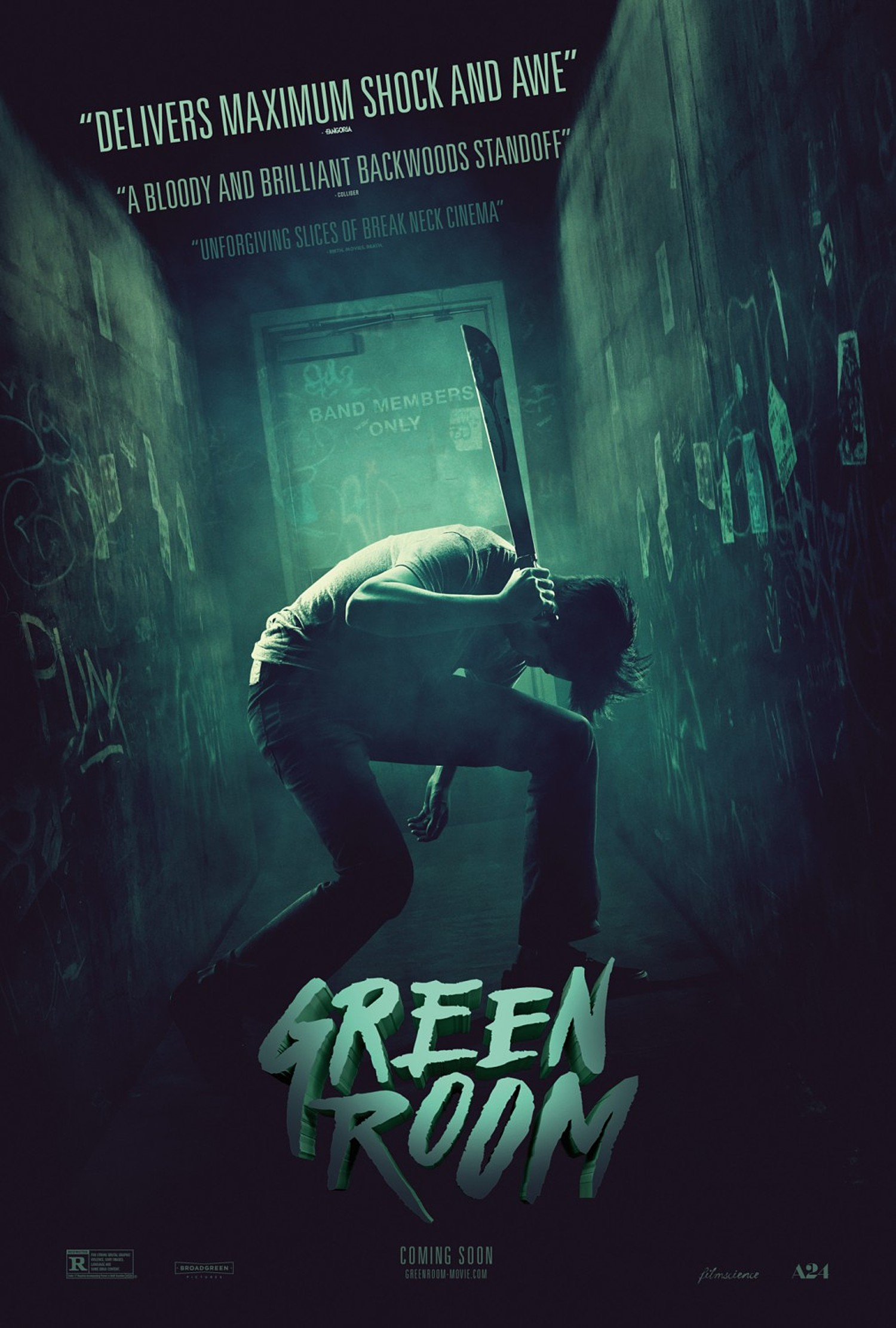 Green Room 2016 Retrospective Review  The Cinema Critic