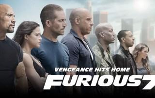 Furious 7 banner