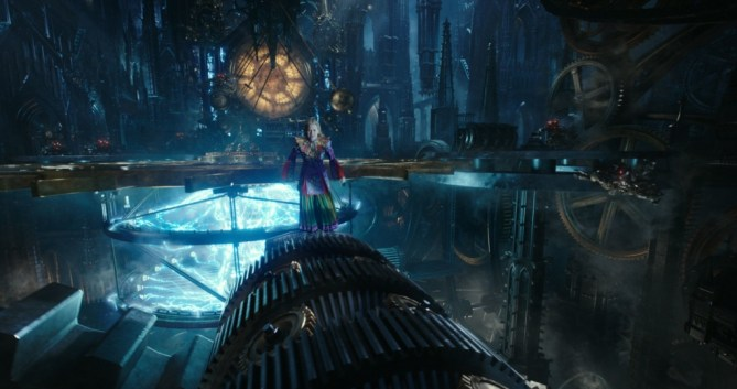 Alice (Mia Wasikowska) returns to the whimsical world of Underland in Disney's ALICE THROUGH THE LOOKING GLASS, an all new adventure featuring the unforgettable characters from Lewis Carroll's beloved stories..