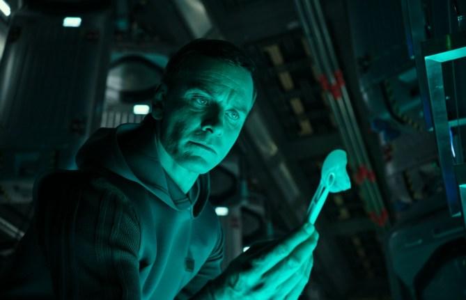 Michael Fassbender (Walter) stars in ALIEN: COVENANT