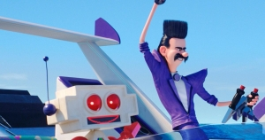 Despicable Me 3 (2017) Clive (voiced by Andy Nyman) and Balthazar Bratt (voiced by Trey Parker)