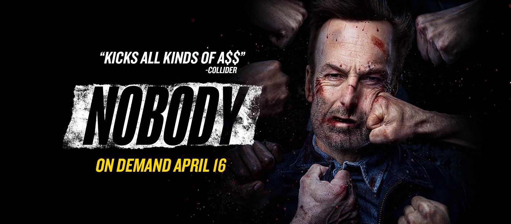 """Nobody"" film banner"
