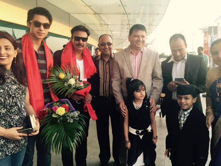 Bhuwan Kc and Anmol Kc in Dubai for cultural program - thecinematimes.com