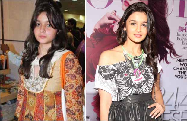 Alia Bhatt Bollywood actress before and after- thecinematimes.com