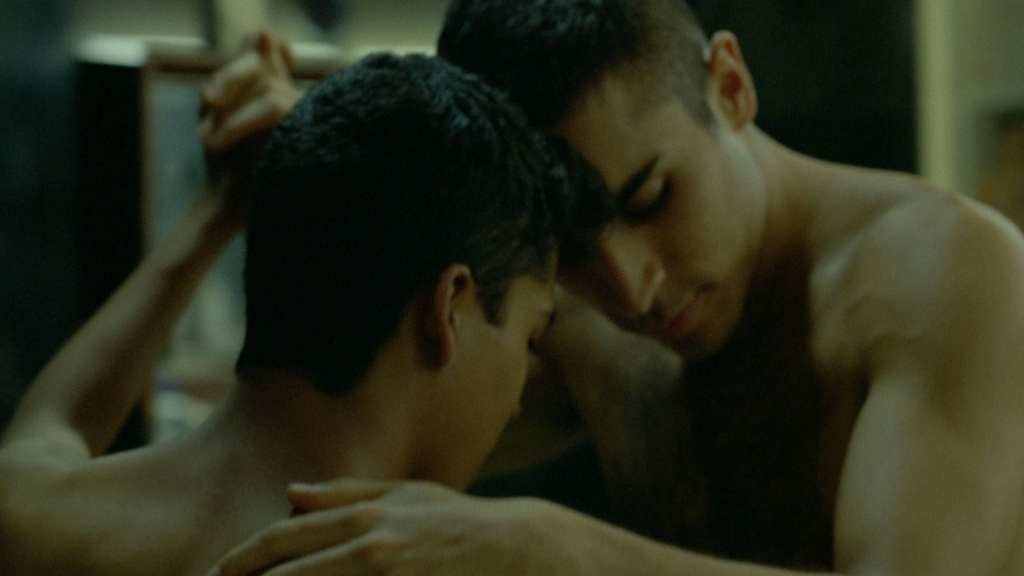 Scene fromTrémulo, a beautiful gay short from Mexico
