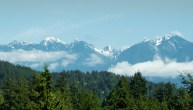 Notth Vancouver from Bowen Island