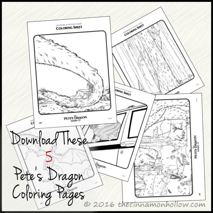 Petes Dragon Coloring Pages Sketch Coloring Page