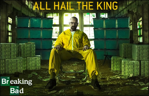 "Breaking Bad : ""All Hail The King""... tout est dit ! ^^"
