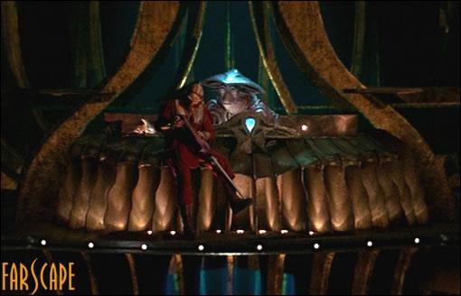 La cabine de Pilot : cette giganteste marionnette laisse passer énormément d'émotions !