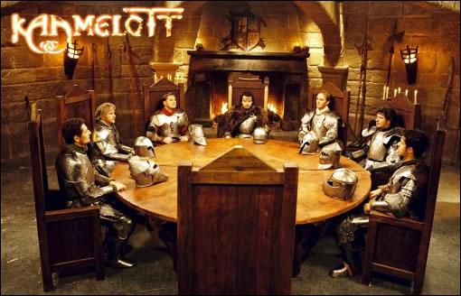 La table ronde et ses chevaliers