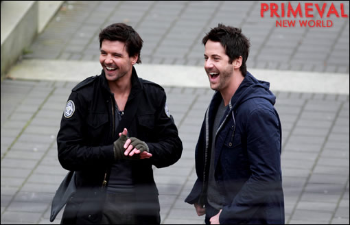 """Primeval: New World"" - Photos de tournage"