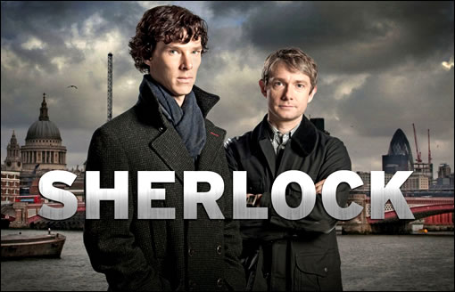 Sherlock version moderne... merci BBC pour ce chef-d'oeuvre !!