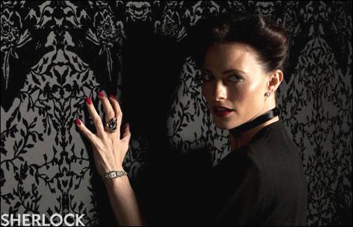 Voilà à quoi ressemble une femme digne de Sherlock ^^