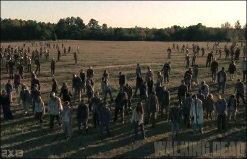 """Chéri, on a des invités !"" - The Walking Dead Season Final"