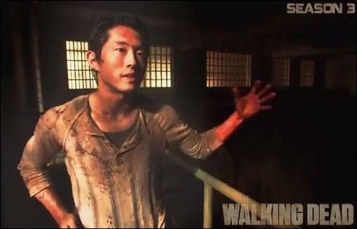 Steven Yeun (Glenn) The Walking Dead Season 3