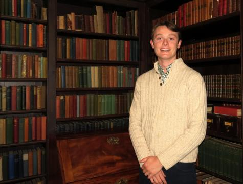 Hugh McGlade '13 Digs Into Groton's Past