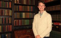 Hugh McGlade '13 Digs Into Groton's Past