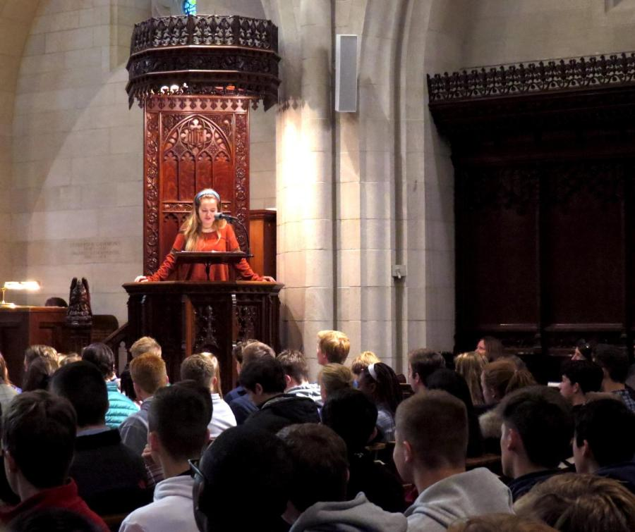 A Chapel Talk for Every Sixth Former
